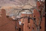 Dorfsansicht in Abyaneh