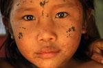 Kind der Yekuana-Indianer,  Rio Caura