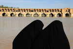 Isfahan, 33-Bogen-Brücke (Si-o-se Pol)