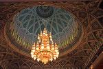 Swarovski-Leuchter, Sultan Quaboos Moschee, Muscat
