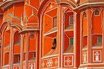 Palast der Winde (Hawal Mahal), Jaipur, Rajasthan