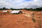 Goldgräber-Camp, Surinam