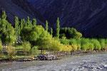 Bartang-Tal mit Bartang-Fluss, Tadschikistan