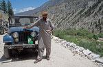 Hunza-Mann, Rakhiot-Tal, Pakistan