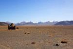 Kirgisischer Friedhof,  Pamir, Tadschikistan