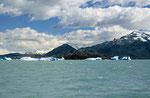 Gletschersee Lago Argentino mit Upsala Gletscher, Argentinien
