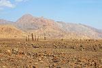 Landschaft am Rande der Wüste Dascht-e Lut