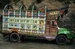 Typischer Lastkraftwagen, Pakistan