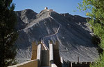 Chinesische Mauer bei Yiayugan, Provinz Gansu, VR Cina