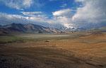 Kongur Shan, mit 7.649 m höchste Gipfel im Pamir, Provinz Xinjiang, VR China