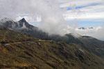 Pico El Aguila (Adlerpass, 4.118 m), Anden