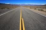 Straße zur Sierra Nevada, Kalifornien