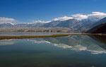 Bergsee in der Nähe von Taxkurghan, Pamir, Provinz Xinjiang, VR China