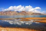 Karakul-See mit Transalai-Kette, Tadschikistan