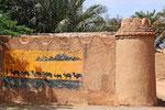 Im Dorf Shafiabad am Rande der Wüste Dascht-e Lut