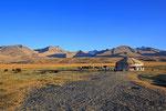 Kirgisen-Lager im Pamir bei Alichur, Tadschikistan
