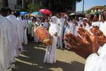 Tissat-Fest in der Nähe von Gondar
