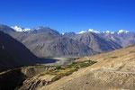 Wakhan-Korridor mit Blick zum Hindukusch und Pamir, Tadschikistan