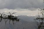 Bumthang mit Himalaya-Kette