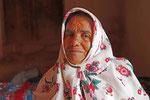Alte Frau in Abyaneh