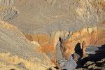 Erosionsformen am Ende der Kali Gandaki-Schlucht, Mustang