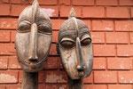 Masken, Ouagadougou, Burkina Faso
