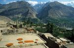 Karimabad mit Karakorum, Provinz Gilgit-Baltistan, Pakistan