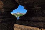 Prag, Blick von der Karlsbbrücke zum Hradschin, Tschechien