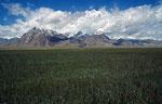 Pamir-Hochfläche am Karakorum Highway, Xinjiang-Provinz, VR China