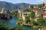 Mostar, Stadtansicht, Bosnien-Herzegovina