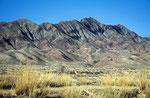 Vorberge des Quilian Shan Gebirges, Provinz Gansu, VR China