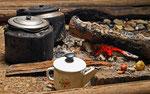 Am lagerfeuer, esso, Kamtschatka