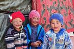 Kirgisen-Kinder im Pamir bei Alichur, Tadschikistan