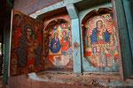 Wandfresken im Ura Kidane Mehret Kloster