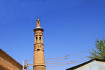 Minarett Hazrati Shoh, Istarafshan, Tadschikistan