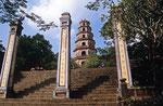 Thien Mu-Pagode, Hue, Vietnam