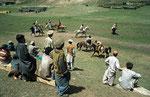 Polospiel auf der Märchenwiese unterhalb des Nanga Parbat, Pakistan