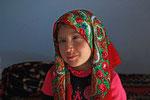 Mädchen aus Yamg, Badakshan, Tadschikistan