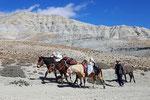 Auf dem Weg nach Chhusang, Mustang