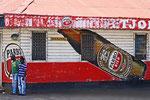 Reklame Parbo-Bier, Paramaribo, Surinam