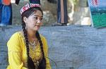 Frau aus Turfan, Provinz Xinjiang, VR China