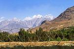 Hindukusch von Sultan-Ishkashim aus, Wakhan, Afghanistan