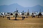 Flugzeugfriedhof, Pima Airbase, Arizona, USA