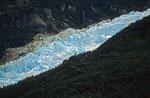 Gletscher in der Magellan-Straße, Chile