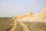 Fahrspur, Danakil-Wüste, Dschibuti