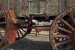 Historischer Ochsenwagen, Harmony Borax Works, Death Valley Kalifornien