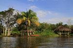 Pfahlbauten der Warrao-Indianer, Orinoco-Delta