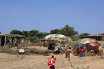 Dorf bei Ali-Sabiem, Dschibuti