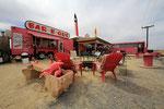 Straßenrestaurant, Terlingua, Texas