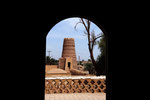 Zitadelle im Dorf Shafiabad am Rande der Wüste Dascht-e Lut
